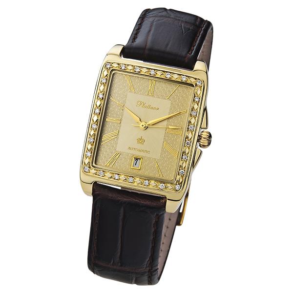 Золотые часы PLATINOR Лидер 52961AM.421. Мужские