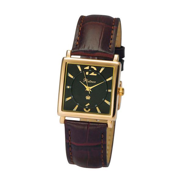 Золото 585 пробы,наручные часы Платинор,Platinor,золото,механизм:Япония, Citizen Co. Ltd. ,кварц