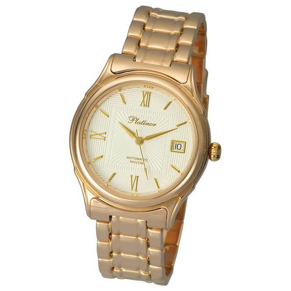 Купить золотые часы мужские платинор купить копию часов daniel wellington