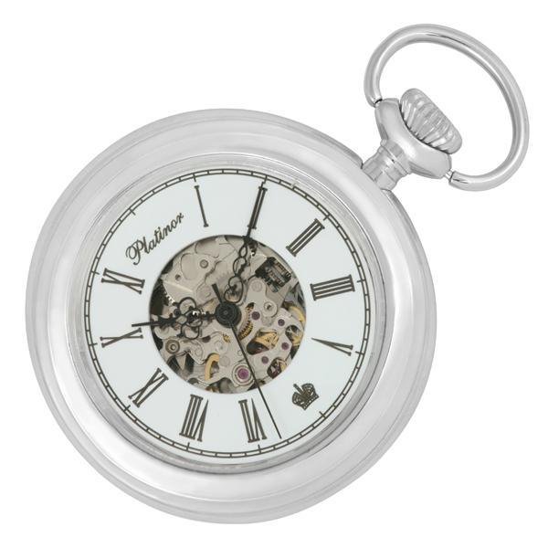 Карманные серебряные часы 63000.156